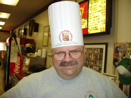 My chef's hat, made by Jack Sweeney from Scranton Hobby!