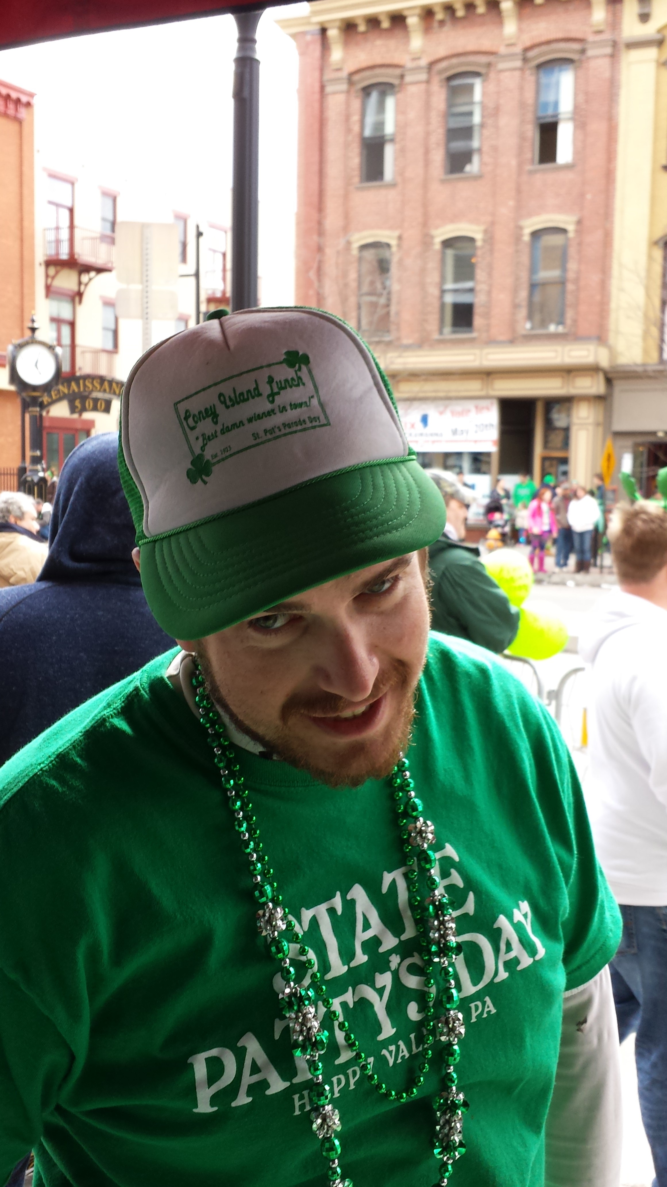 St. Patty's revelers always represent CIL. 2014